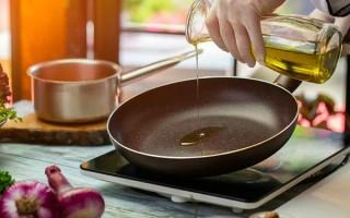 Не опасно ли жарить на оливковом масле и как подобрать правильное масло для жарки
