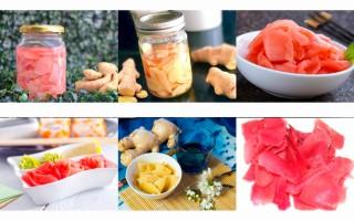 Особенности употребления маринованного имбиря — как замариновать в домашних условиях