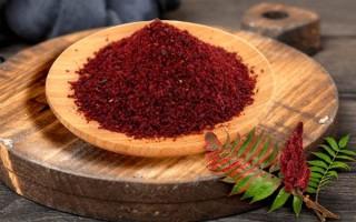 Что такое специя сумах: польза и вред, применение в кулинарии и медицине, рецепты