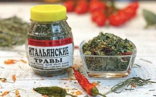 Из чего состоят итальянские травы и куда добавляют смесь — рецепт для дома