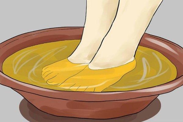Ванночка с горчицей