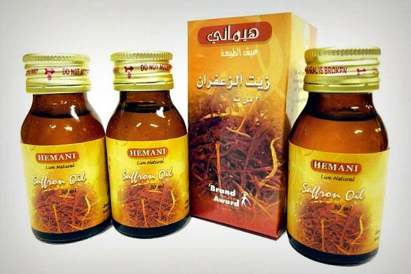 Эфирное масло шафрана Hemani