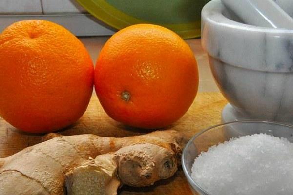 Имбирно-апельсиновая соль