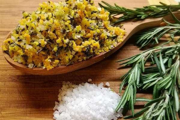 Цитрусово-розмариновая соль