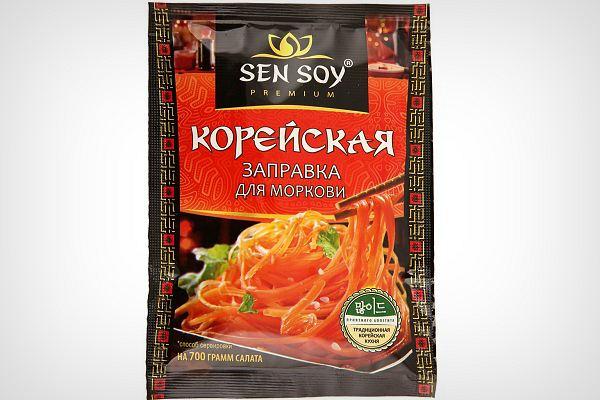 Приправа для корейской моркови Sen Soy