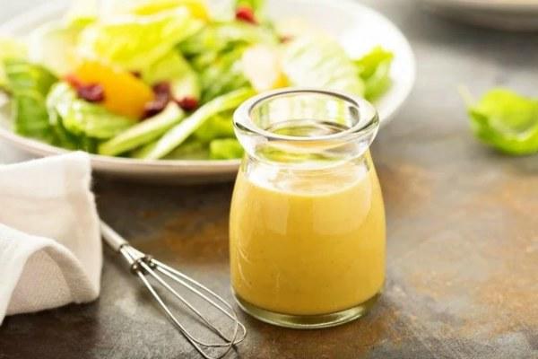 Салатная заправка с уксусом и горчицей