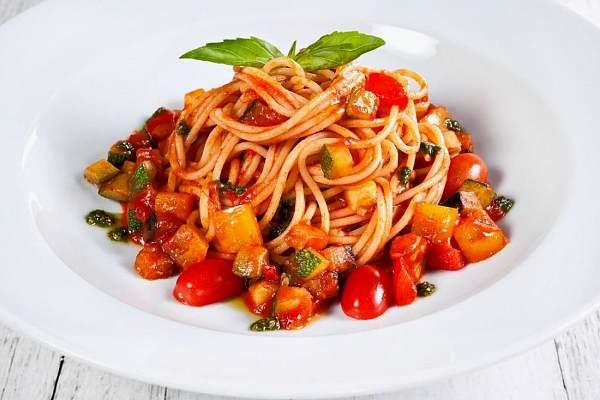 Соус томатно-перечный для макарон