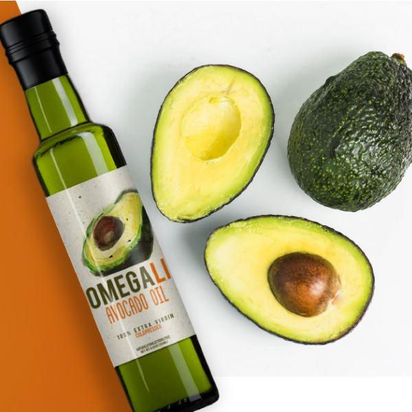 Авокадо масло в бутылке