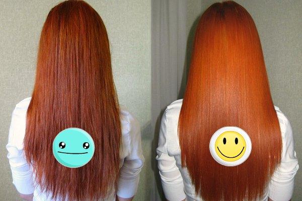 Волосы после яблочного уксуса