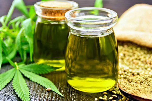 Конопляное масло натуральное