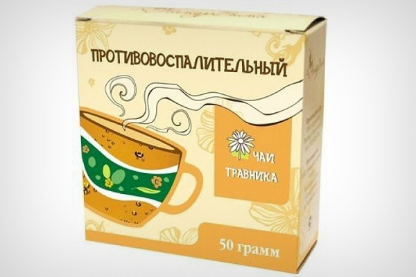 Противовоспалительный чай из трав