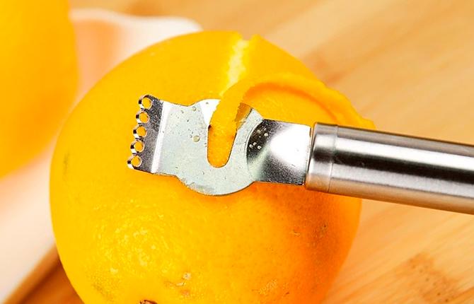Как сделать апельсиновую цедру