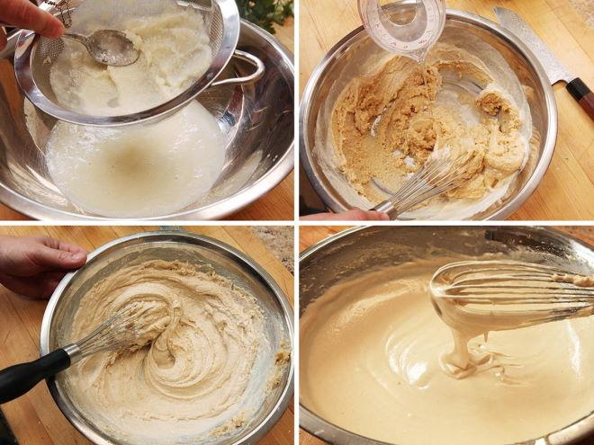 Этапы приготовления кунжутной пасты дома